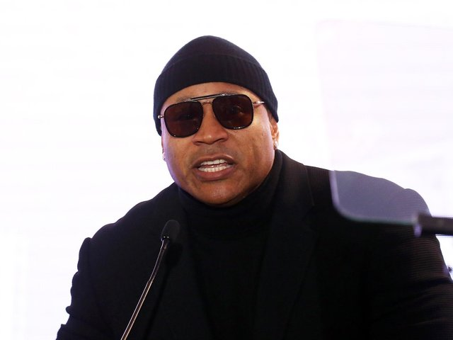 HE'S LEEDS: American rapper superstar LL Cool J. Photo by Michael Tran/Getty Images.