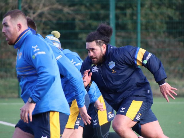 May 31 is the date for clubs to tell players in the final year of their contract - such as Leeds Rhinos' Konrad Hurrell, right - if they are to be offered a new deal. Picture by Phil Daly/Leeds Rhinos.