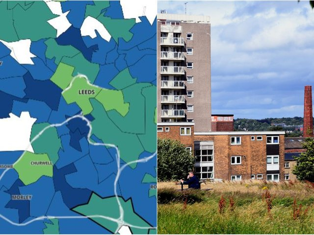 These Leeds neighbourhoods have the highest infection rates in the city