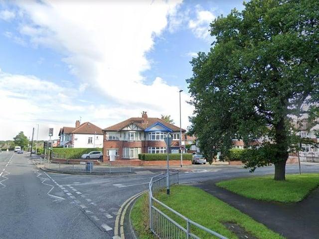 King Lane at the junction with Nursery Lane (photo: Google).