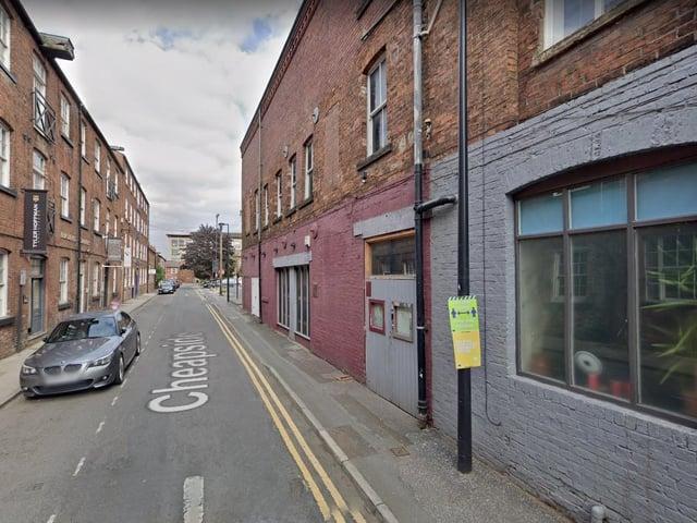 Cheapside in Wakefield