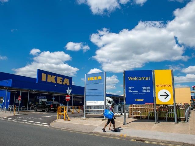 Ikea Leeds at Birstall.