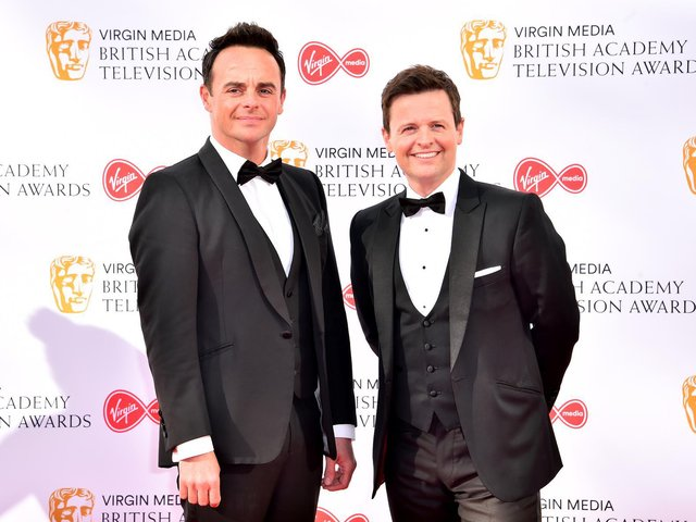 Library image of Anthony McPartlin (left) and Declan Donnelly, whose programme Saturday Night Takeaway is broadcast by ITV.