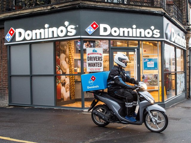 Domino's Pizza added that £9 million was spent on coronavirus support for franchisees