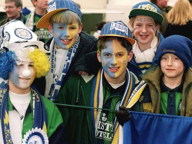 Enjoy these photo memories from Leeds in March 1996. PIC: PA