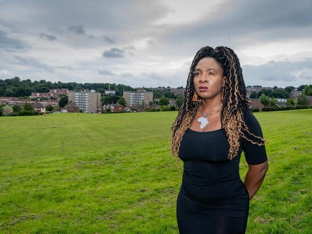 Marvina Newton, head of Leeds Black Lives Matter movement.