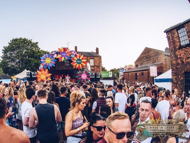 Made in Leeds festival.