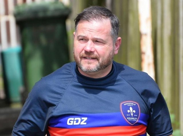 Lee Whiteley. Picture c/o Wakefield Trinity Community Foundation.