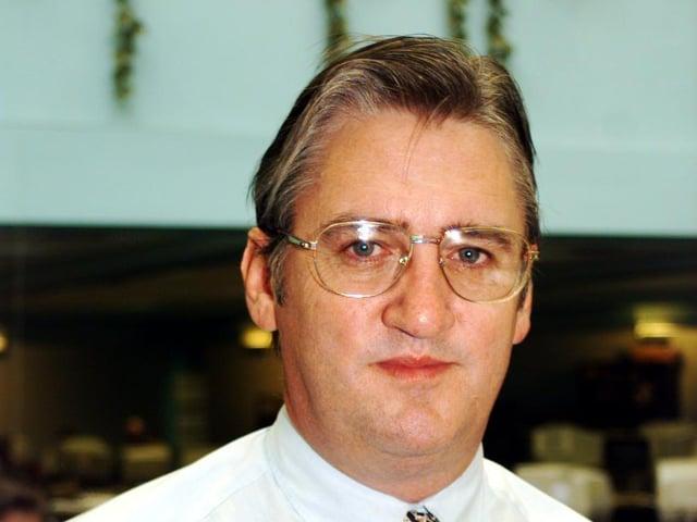 Former Yorkshire Evening Post editor Chris Bye