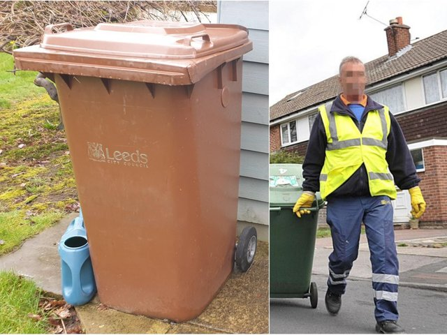 Brown bin collections will be restarted in Leeds this month