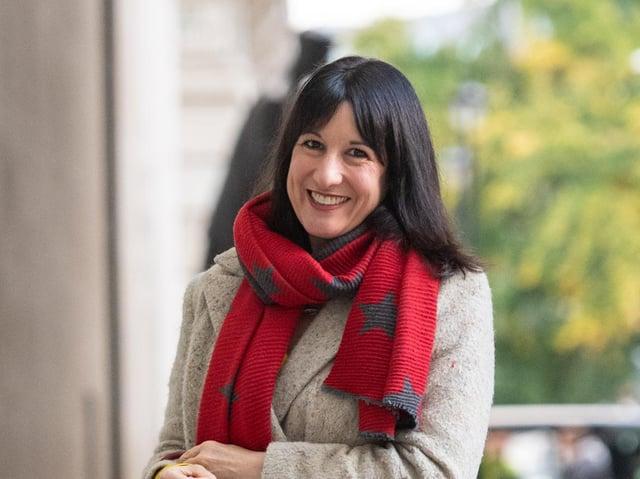Leeds West MP Rachel Reeves. Photo: PA