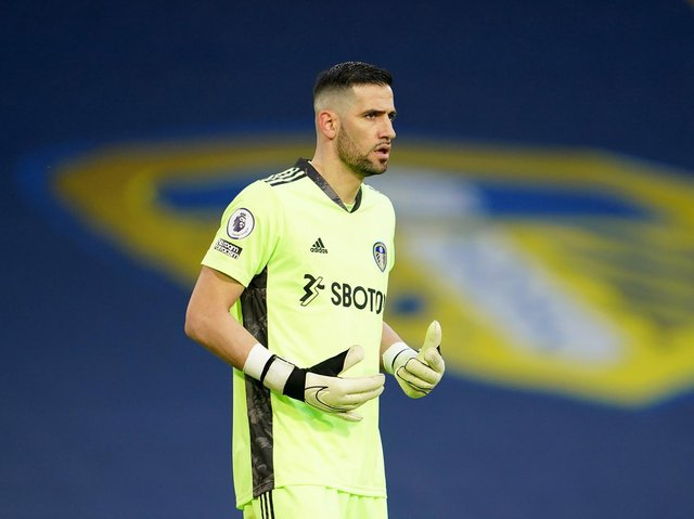 THIRD CHOICE - Elia Caprile was included in Leeds United's squad for the West Ham game, ahead of Kiko Casilla, pictured. Pic: Getty