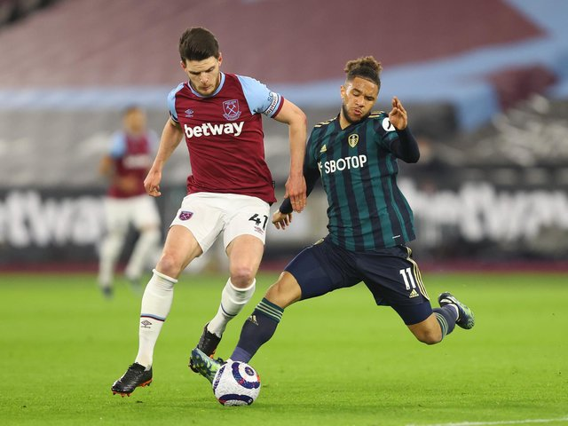 BIG CLASH - Tyler Roberts' game against West Ham gave him his fourth consecutive start for Leeds United. He believes Saturday's game against Chelsea is one the Whites need. Pic: Getty