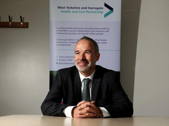 Rob Webster, chief executive of South West Yorkshire Partnership NHS Foundation Trust and lead chief executive of West Yorkshire and Harrogate ICS. Picture: Simon Hulme