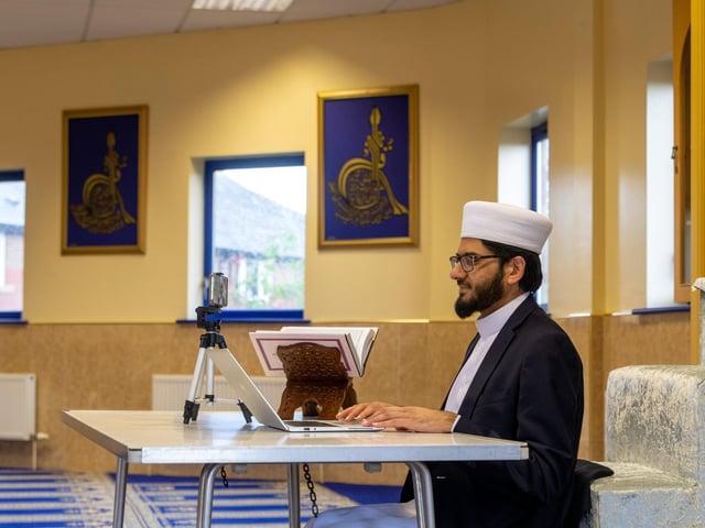 Leeds imam Qari Asim warned people to be mindful of misinformation