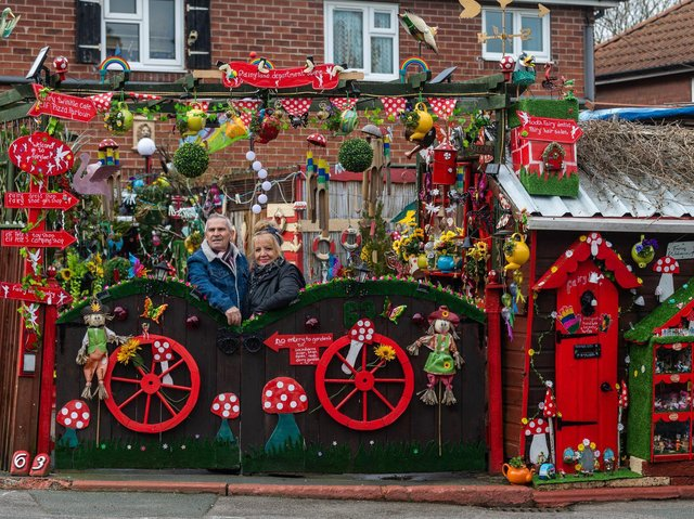 May and Rod Proctor's Fairy Lane in Garforth (photo: James Hardisty)