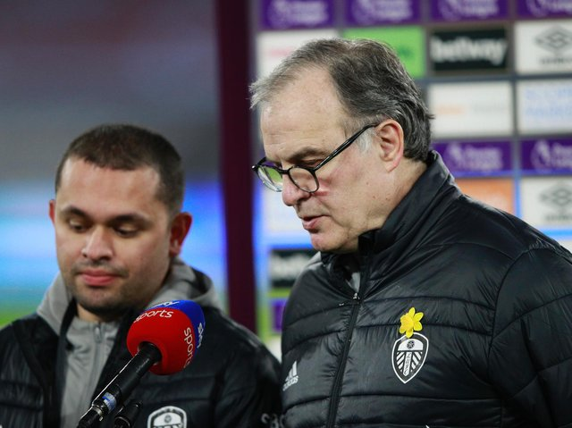 FOREVER JOB - Marcelo Bielsa likes to think his job at Leeds United will be his last in football but knows nothing lasts forever. Pic: Getty