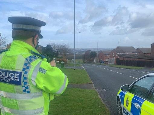 Police set up mobile cameras on the Ring Road Middleton, Belle Isle Road and Middleton Park Avenue (Photo: WYP)