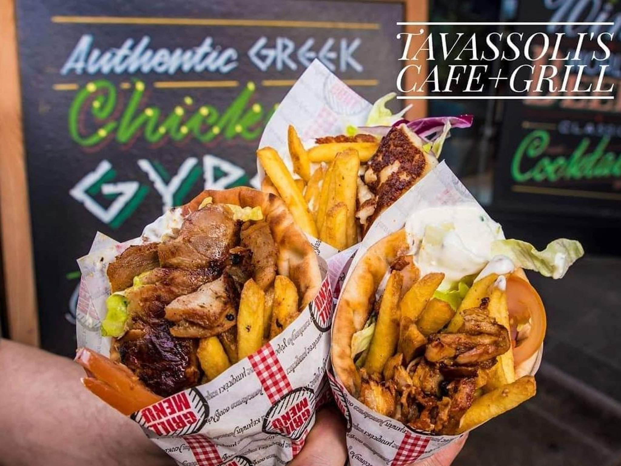 Tavassoli's Cafe announces return of popular gyros and bottomless drinks offer in Leeds