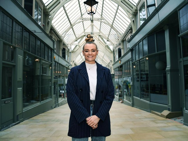 Mental health coach Vicky Fytche is to open the 'Better Days' 'wellbeing' coffee house and bar in the Grand Arcade. Picture : Jonathan Gawthorpe