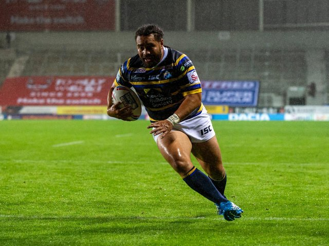 Konrad Hurrell is in the final year of his contract. Picture by Bruce Rollinson.