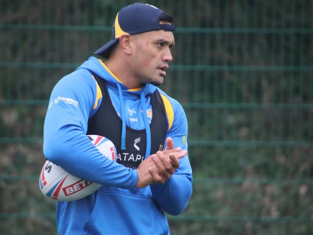 Zane Tetevano will pull a Rhinos shirt on for the first time this weekend. Picture by Phil Daly/Leeds Rhinos.
