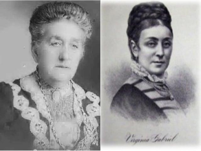 Clara Gottschalk and Virginia Gabriel.
