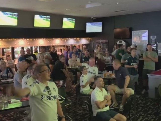 A video of the Perth Whites Leeds United supporters group singing Marching on Together has gone viral on social media. cc Perth Whites