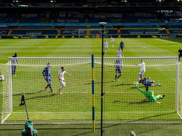 EVEN GAME - Leeds United created plenty of danger against a Chelsea side who aren't conceding goals under new boss Thomas Tuchel. Pic: Bruce Rollinson
