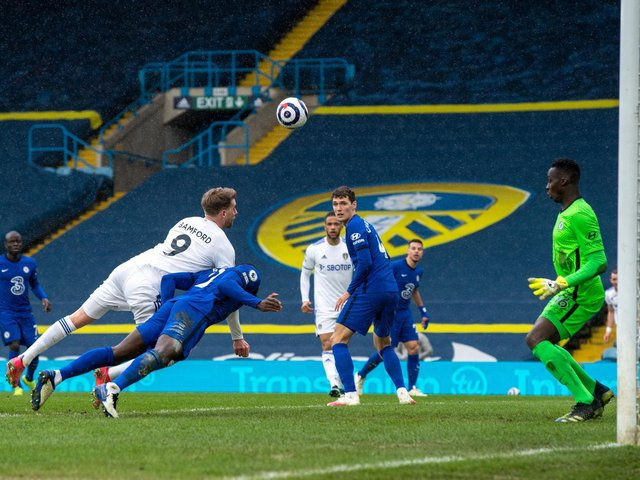 GOALLESS DRAW - Leeds United held Chelsea to a 0-0 draw at Elland Road. Pic: Bruce Rollinson