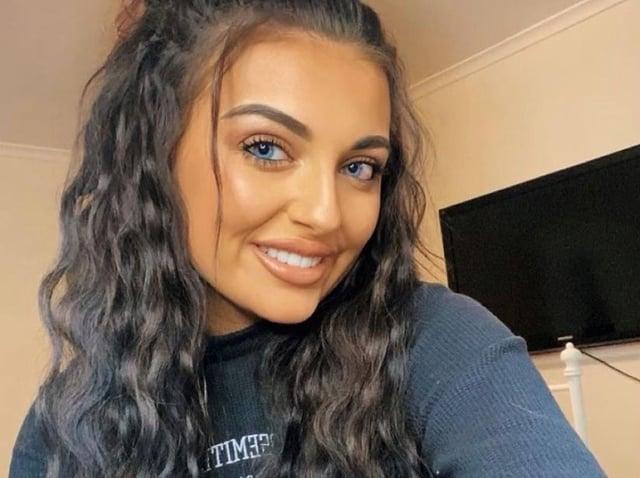 Megan Jackson, 21, has been raising awareness with TikTok