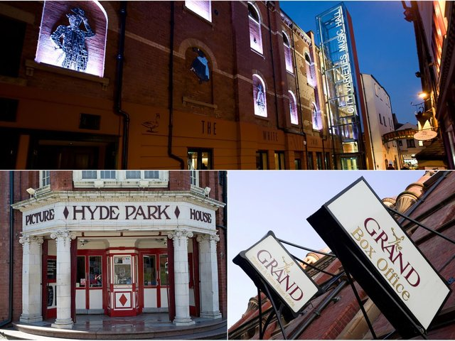 Both Leeds Grand Theatre and City Varieties Music Hall hope to raise their curtains and welcome audiences back from May 2021. Hyde Park Picture House remains closed as work begins on the much-anticipated Picture House Project.