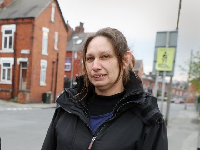 Sarah Lloyd, whose son Kieran was fatally stabbed in Harehills in 2013, appears in the video