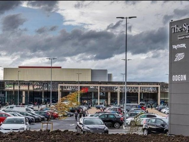 The Springs shopping complex - Thorpe Park, Leeds