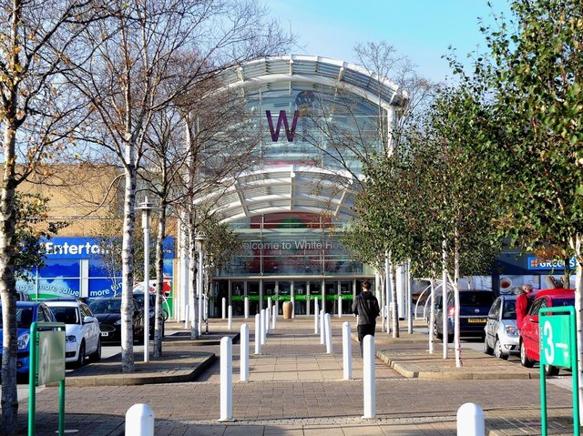 The White Rose Shopping Centre in Beeston, Leeds.