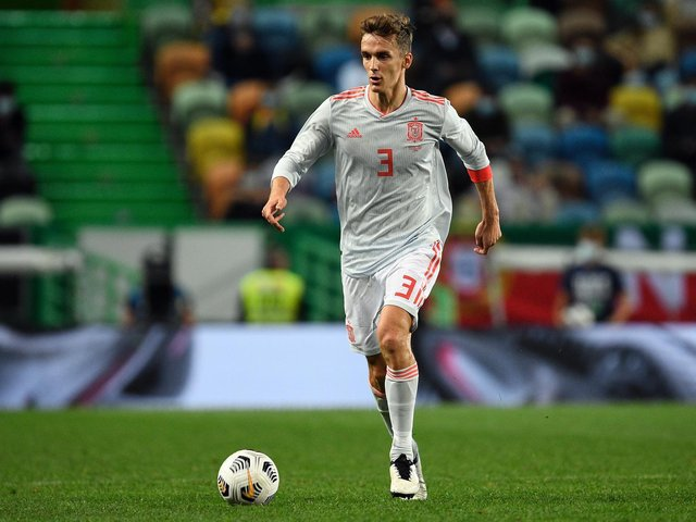 CALL UP: For Leeds United centre back Diego Llorente ahead of Spain's three World Cup qualifiers this month. Photo by Octavio Passos/Getty Images.