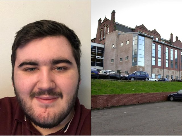 David Baker, 17, is studying the new T level qualification in digital production, design and development at Notre Dame Catholic Sixth Form College