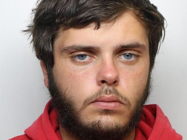Burglar Aaron Vaughan was jailed for 32 months
