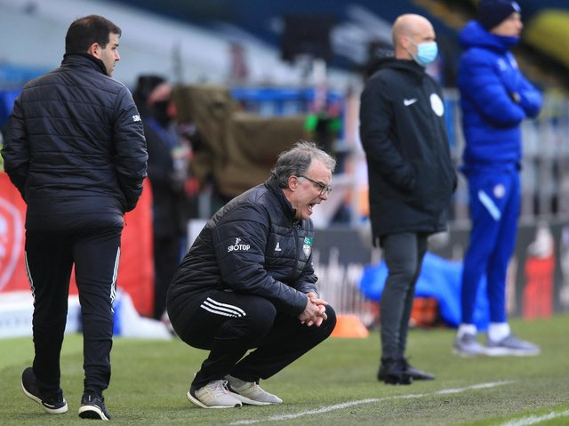 Leeds United head coach Marcelo Bielsa. Pic: Getty