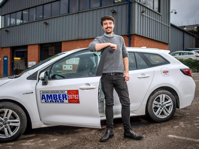 Chris Neary, Amber Cars regional director.