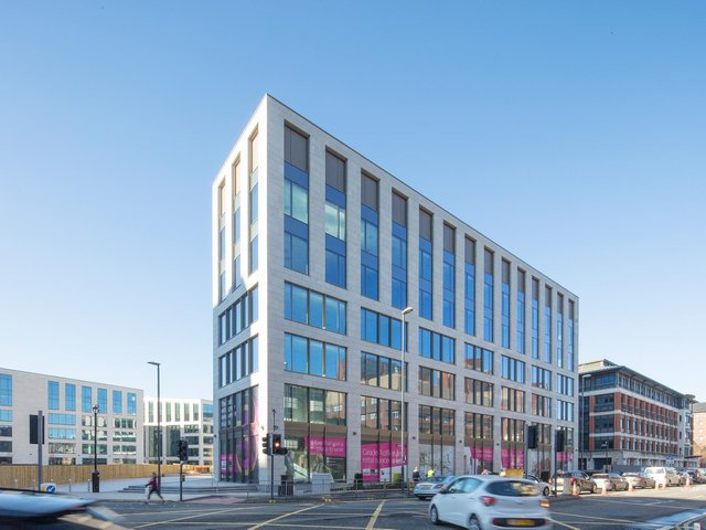 The Wellington Place development in Leeds has been widely praised for its role in regenerating part of Leeds.