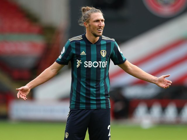 WHY NOT? Leeds United defender Luke Ayling has fearsome competition for a place in the England squad but if Gareth Southgate wants form, fitness and versatility, there are few better. Pic: Getty