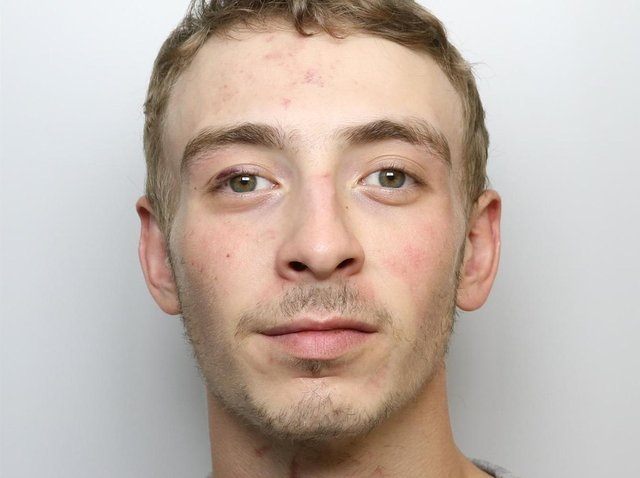 Joshua Stroud was jailed for 25 months for stabbing his friend.