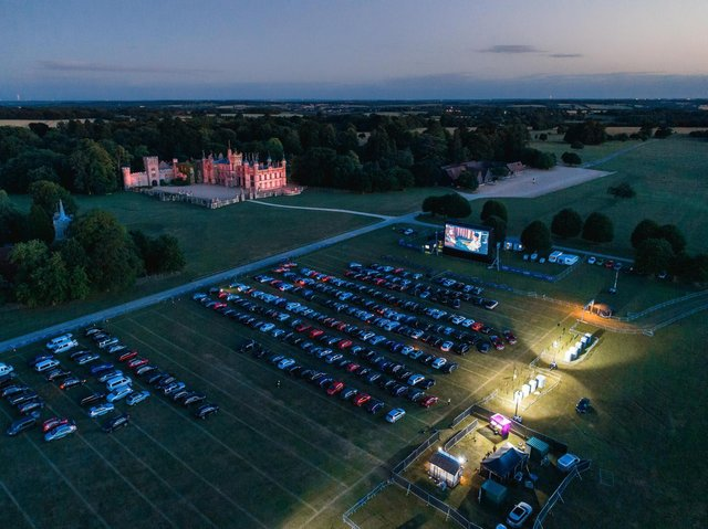 The Luna Cinema is coming to Harewood House this June (photo: The Luna Cinema)