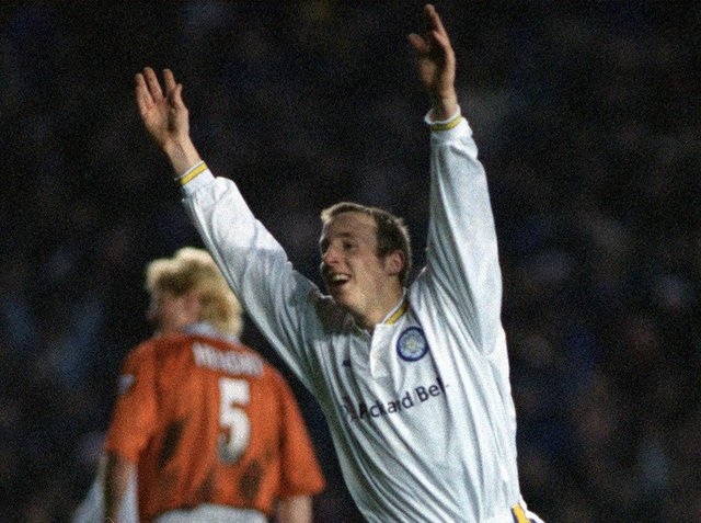 Enjoy these photo memories of Leeds United's 4-0 win against Blackburn Rovers in March 1998. PIC: Mark Bickerdike