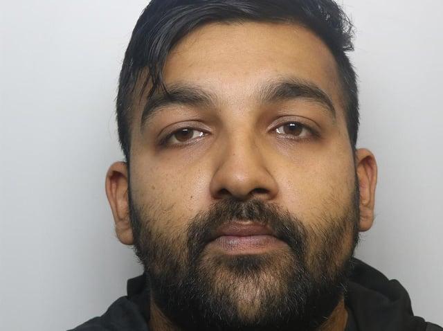 Cannabis dealer Ithishaam Hussain was jailed for 18 months at Leeds Crown Court