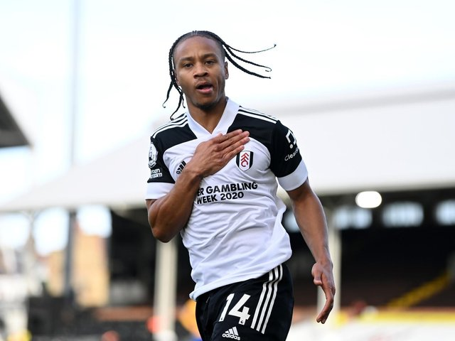 DANGER MAN: Bobby Decordova-Reid, above, is rated Fulham's chief goal threat in Friday night's Premier League clash against Leeds United at Craven Cottage. Photo by Daniel Leal Olivas - Pool/Getty Images.