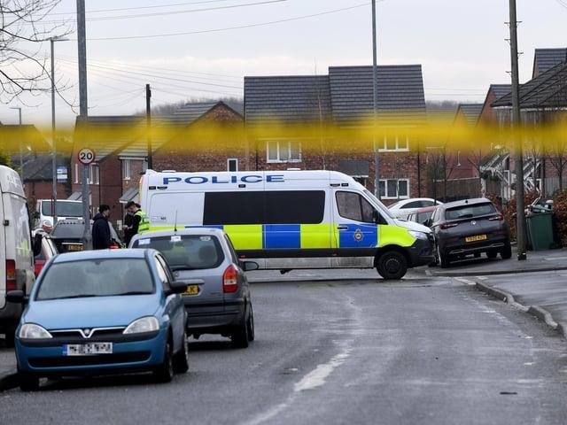 A Leeds crime scene