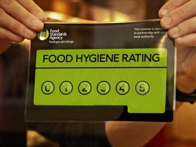 Hygiene ratings are dished out by the Food Standards Agency.