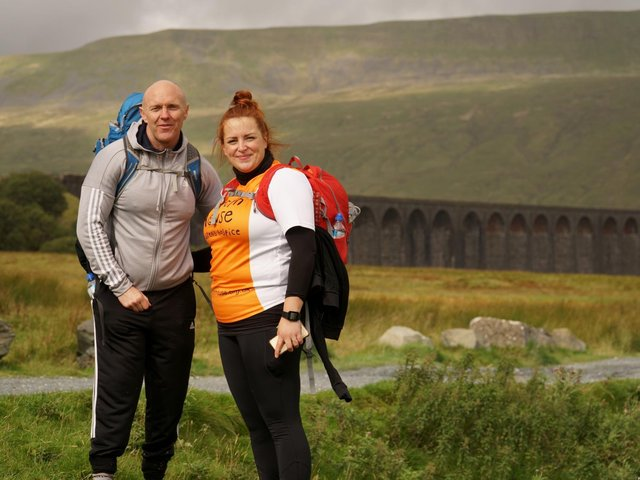 Fundraisers tackle the Three Peaks for Martin House.